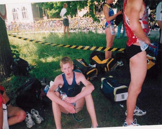 Pavel Mužíček po závodě