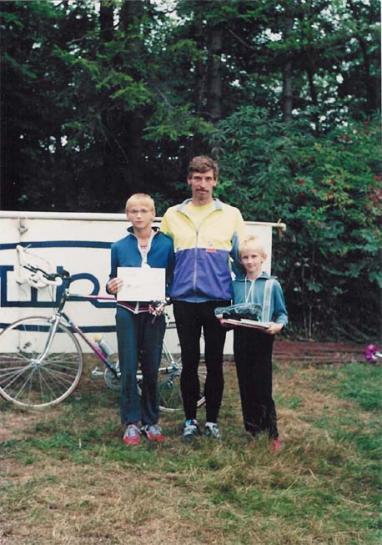Mikulášovice 1991 - Petr, Pepa a Pavel Mužíčkovi