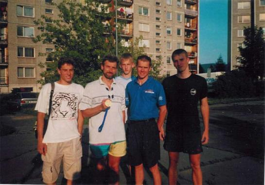 Tonda, Pepa, Pavel, Štěpán a Petr